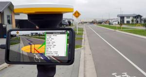 Trimble's new high-accuracy handheld Augmented Reality system takes data visualization outdoors