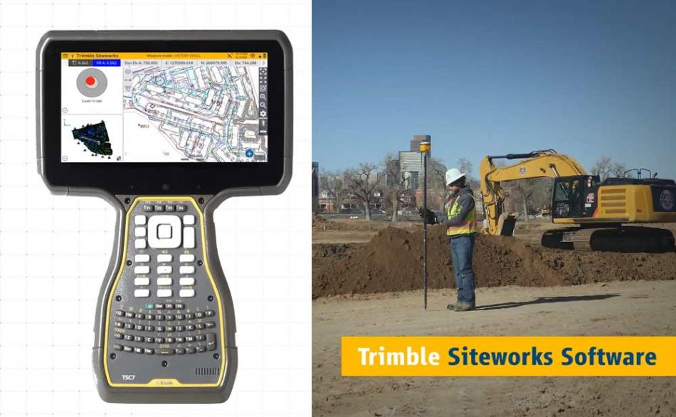 Trimble TSC7 for Land Surveyors